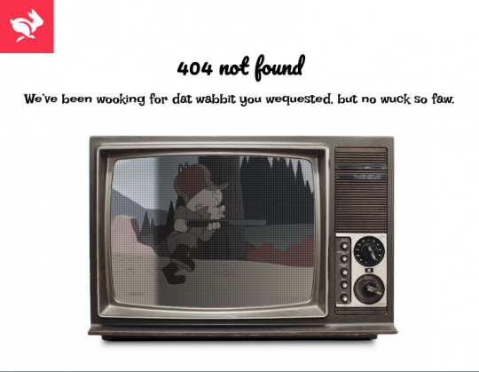 404 page developed for Groundwrk