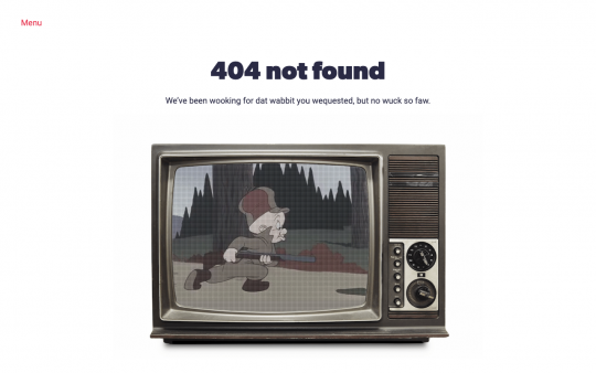 Groundwrk 404 page screenshot